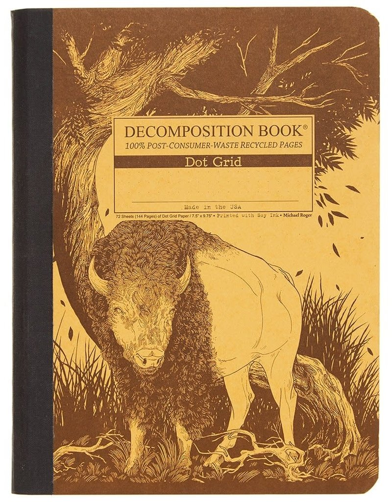 Michael Rogers Decomposition Book | Bison | Dot Grid