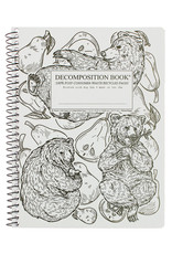 Michael Rogers Coilbound Decomposition Book | Pear Bears | Lined