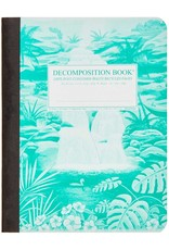 Michael Rogers Decomposition Book | Hawaiian Waterfall | Lined Pages