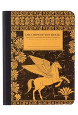 Michael Rogers Decomposition Pegasus Black/Gold Ruled