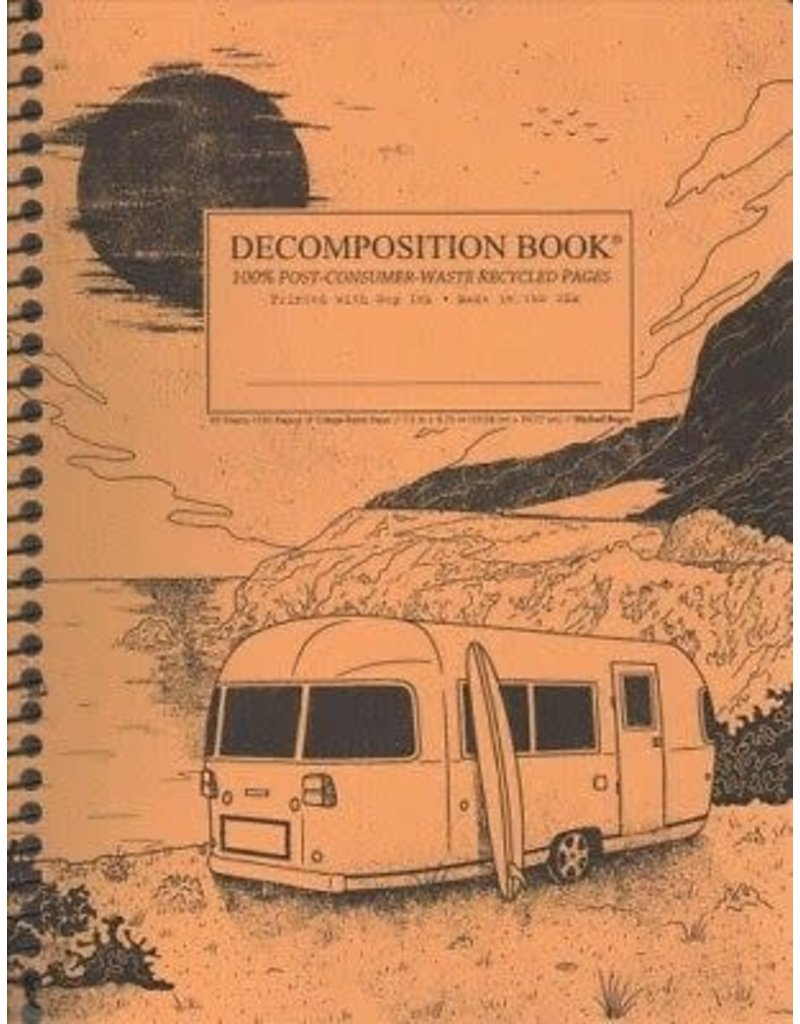 Michael Rogers Coilbound Decomposition Book | Big Sur | Lined Pages
