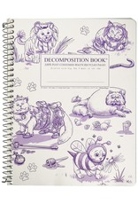 Michael Rogers Coilbound Decomposition Book | Costume Cats| Lined