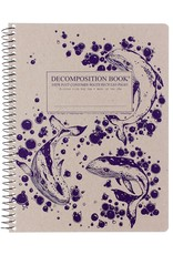 Michael Rogers Coilbound Decomposition Book | Humpback Whales | Lined