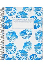 Michael Rogers Coilbound Decomposition Book | Nautilus | Lined