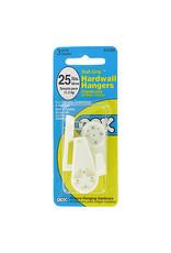 Ook Hard Wall Hanger 25Lb 3Pk