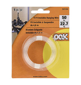 Ook Invisible Hanging Wire 20 Lb