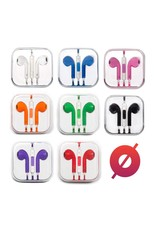 Smash Discount Earbuds W/ Remote & Mic - Blue