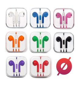Smash Discount Earbuds W/ Remote & Mic - Orange