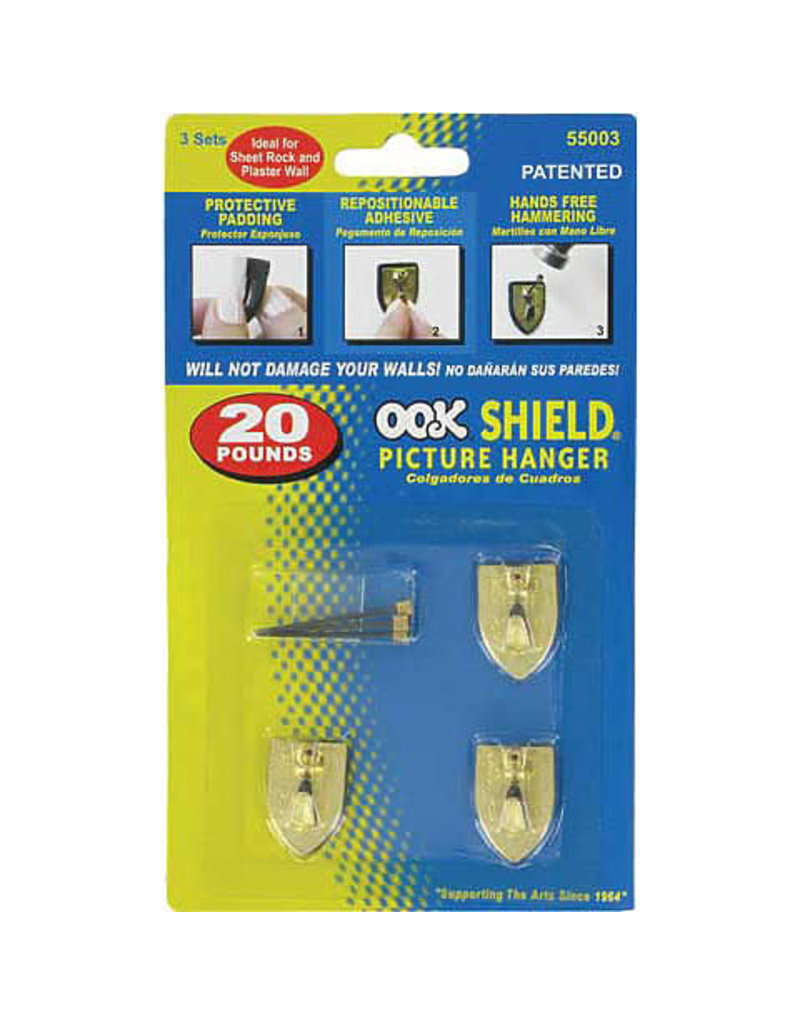 Ook Repo Shield Hanger 50Lb 2Pk