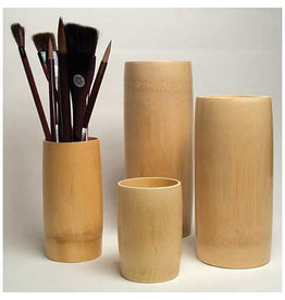 Yasutomo Bamboo Brush Vase Small 5-7/8""
