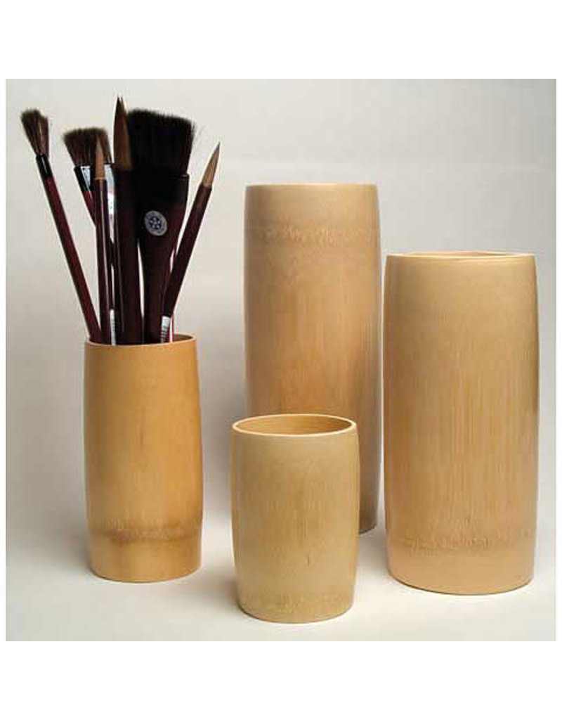 Yasutomo Sm Bamboo Brsh Vase 5 7/8