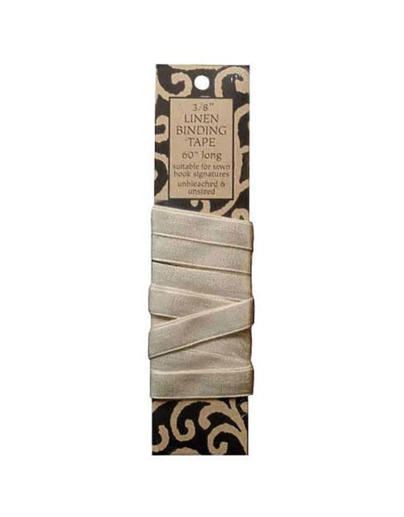 Lineco Linen Binding Tape Unbleached Unsize