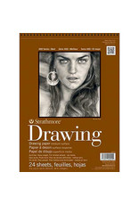 Strathmore Drawing Paper Pads 400 Series, Medium Surface, 12'' x 18''