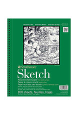 Strathmore Sketch Paper Pads 400 Series Recycled, 9'' X 12''