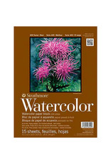 Strathmore Watercolor Paper Blocks & Pads 400 Series, Spiral-Bound Pads, 9'' X 12''