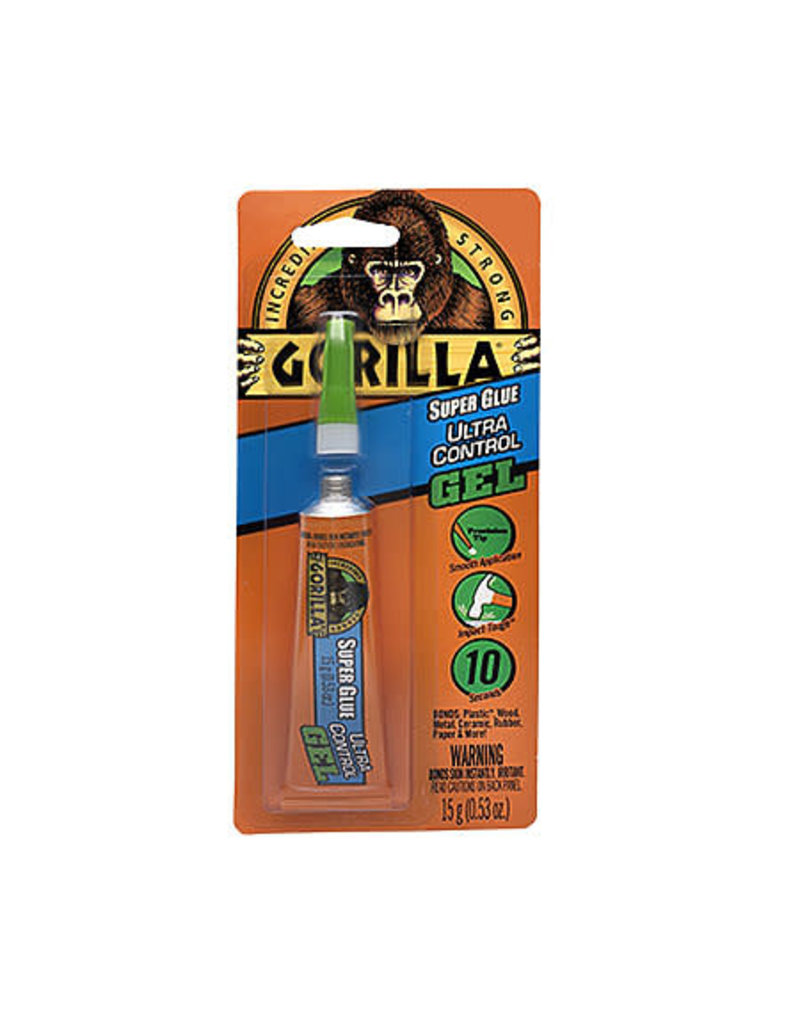 Gorilla Glue Gorilla Super Glue Ultra Control Gel