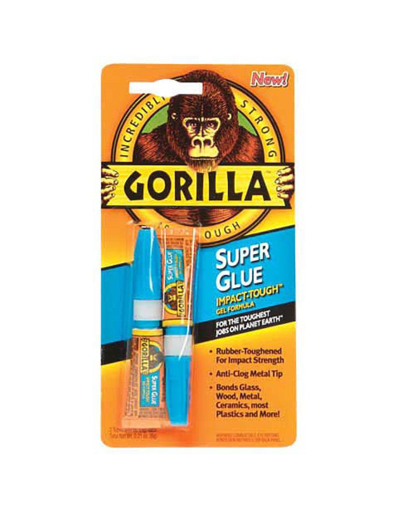 Gorilla Glue Gorilla Super Glue, .11 Oz. Tubes, 2/Pkg.