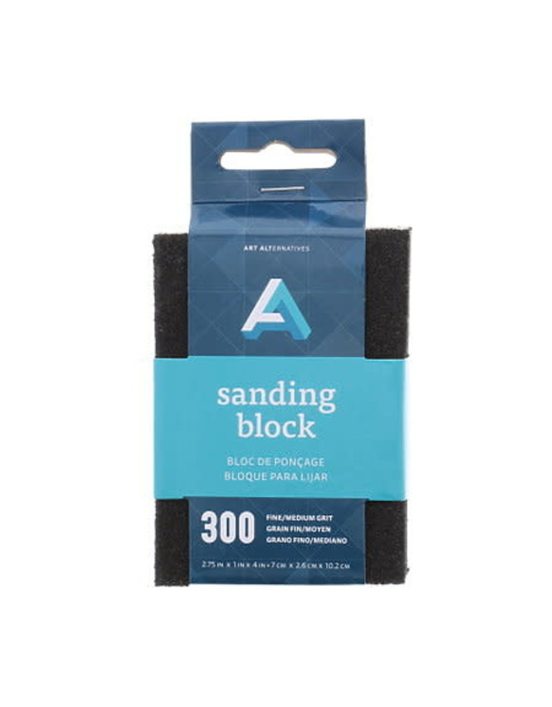 Art Alternatives Sanding Block Foam Fine/Med