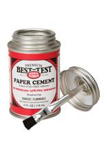 Best Test Rubber Paper Cement 4 Oz (12)