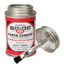 Best Test Rubber Paper Cement 4 Oz (12)