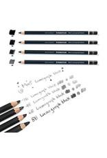 Staedtler Lumograph Pencil Matte Blk 8B