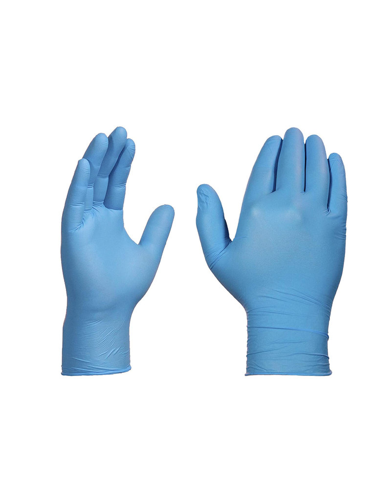Acme Paper Disposable Glove Box of 100 - Nitrile -SMALL