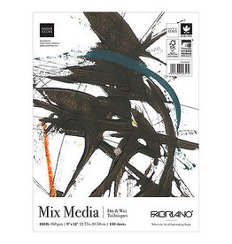 Fabriano Fabriano Studio Mixed Media Fat Pad, 9'' x 12'' - 150 Shts./Pad