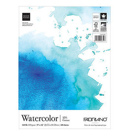 Fabriano Fabriano Studio Watercolor Fat Pad, 9'' x 12'' - 60 Shts./Pad