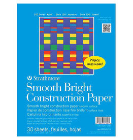 "Strathmore Kids Smooth Bright Construction Paper Pad, 8-1/2"" x 11"""