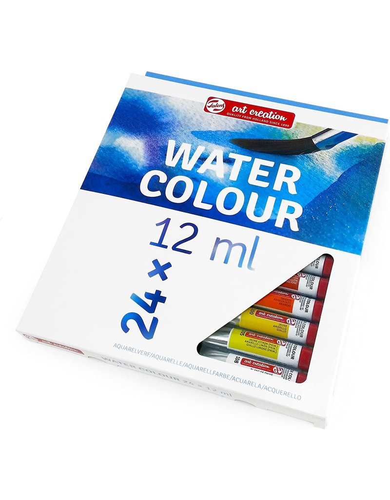 Talens Art Creation Watercolor Sets, 24-Color Set