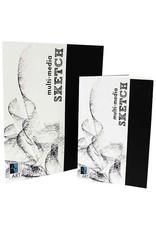 Art Alternatives Mixed-Media Sketch, 5.5 X 8.5 - 24 /Sht. , Staple Bound Pad