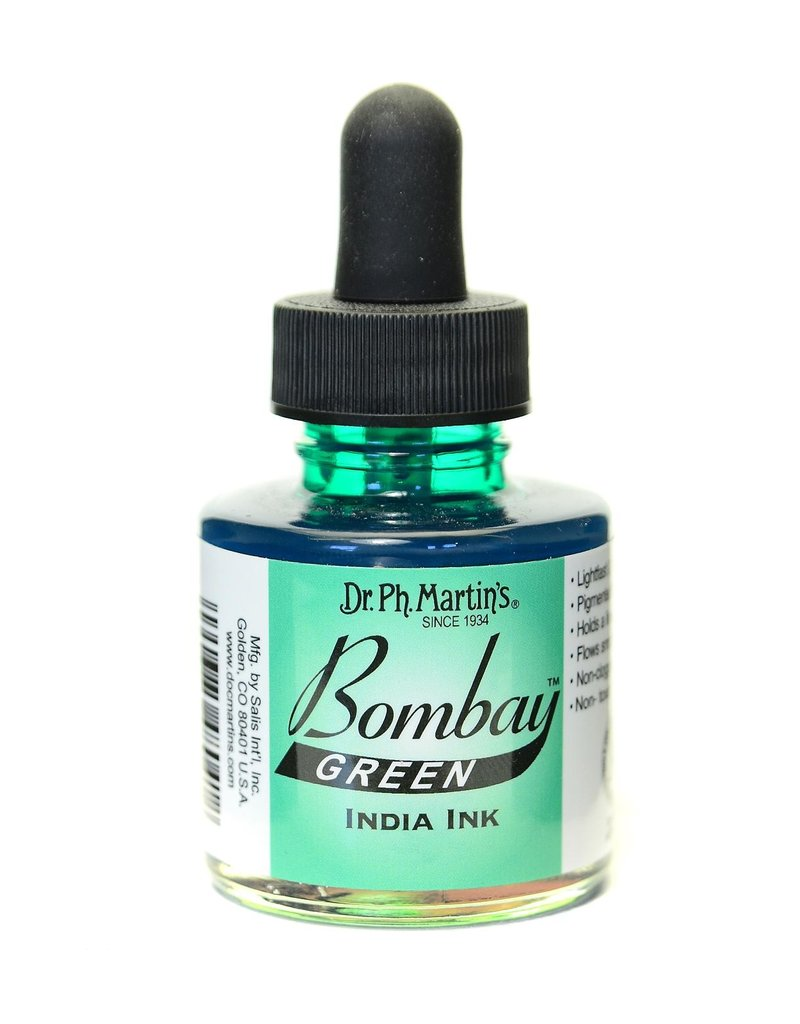 Dr. PH Martin Bombay India Ink 1Oz Green