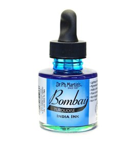 Dr. PH Martin Bombay India Ink 1Oz  Turquoise