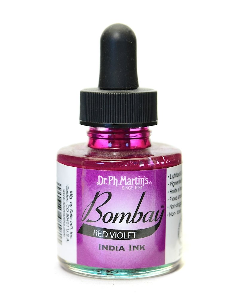 Dr. PH Martin Bombay India Ink 1Oz  Red Vio