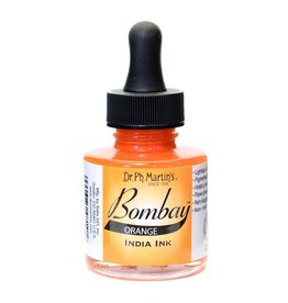 Dr. PH Martin Bombay India Ink 1Oz  Orange