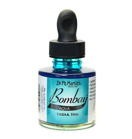 Dr. PH Martin Bombay India Ink 1Oz Aqua