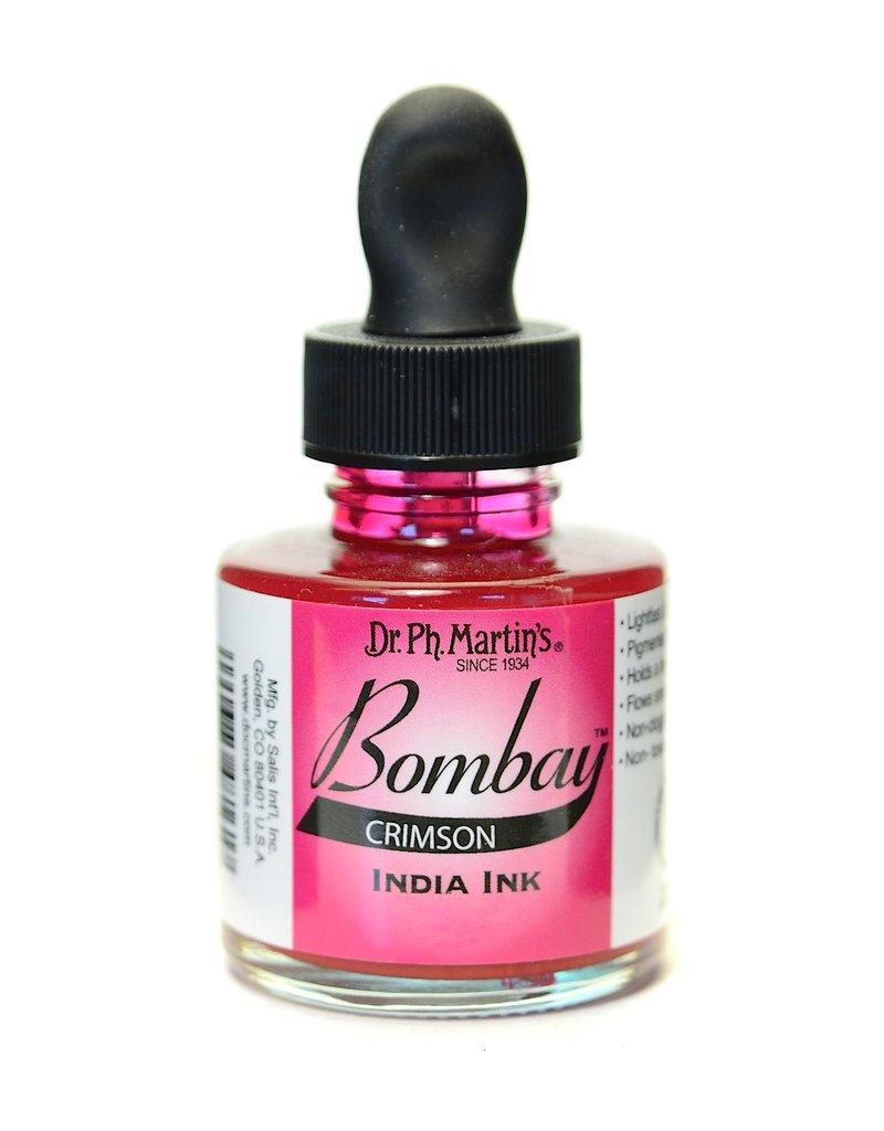 Dr. PH Martin Bombay India Ink 1Oz  Crimson