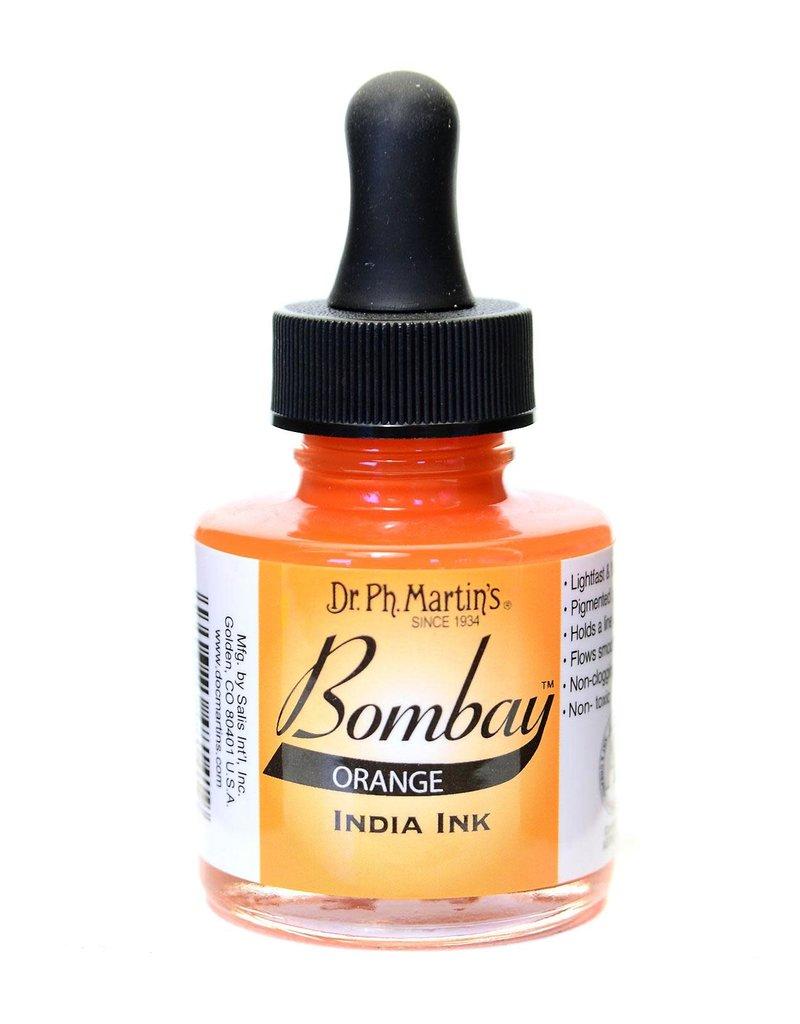 Dr. PH Martin Bombay India Ink 1Oz  Orange