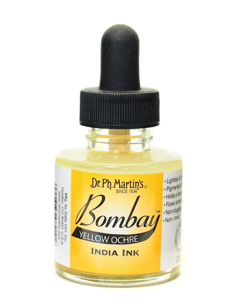 Dr. PH Martin Bombay India Ink 1Oz  Yellow Ochre
