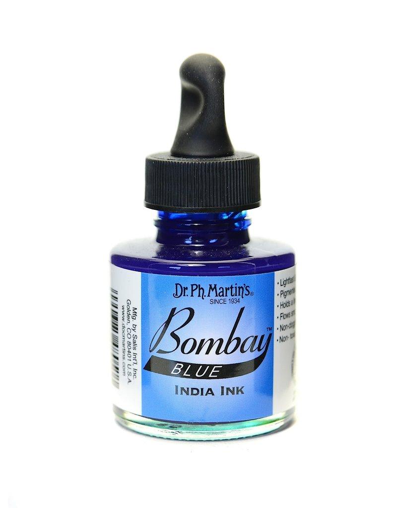 Dr. PH Martin Bombay India Ink 1Oz Blue
