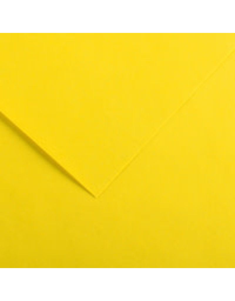 Canson Colorline 300G 19X25 Canary Yellow