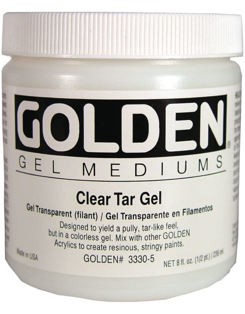 Golden Clear Tar Gel- 8 oz