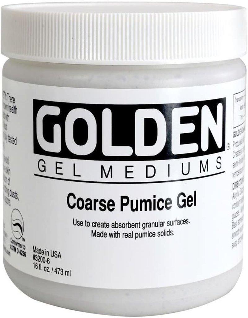 Golden Coarse Pumice Gel- 16 oz