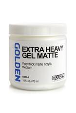 Golden Extra Heavy Gel Matte- 16 oz