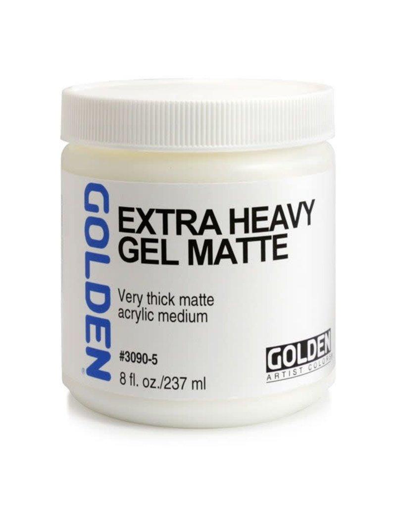 Golden Extra Heavy Gel Matte- 8 oz