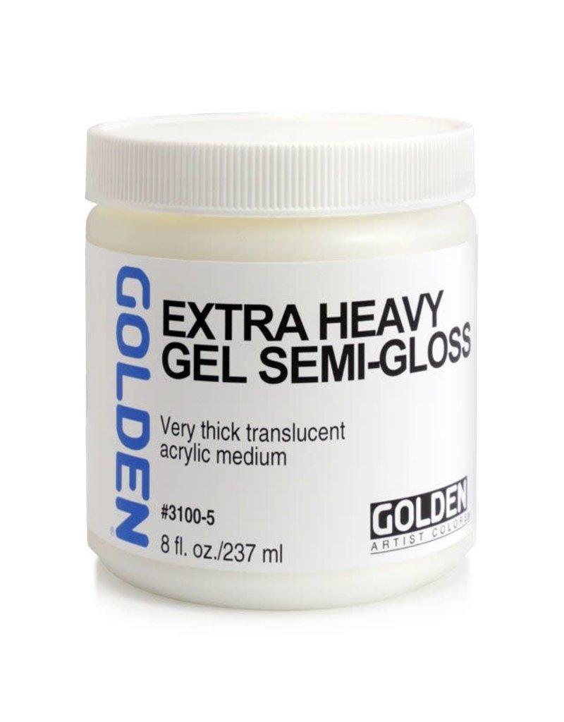 Golden Extra Heavy Gel Semi-Gloss- 8 oz