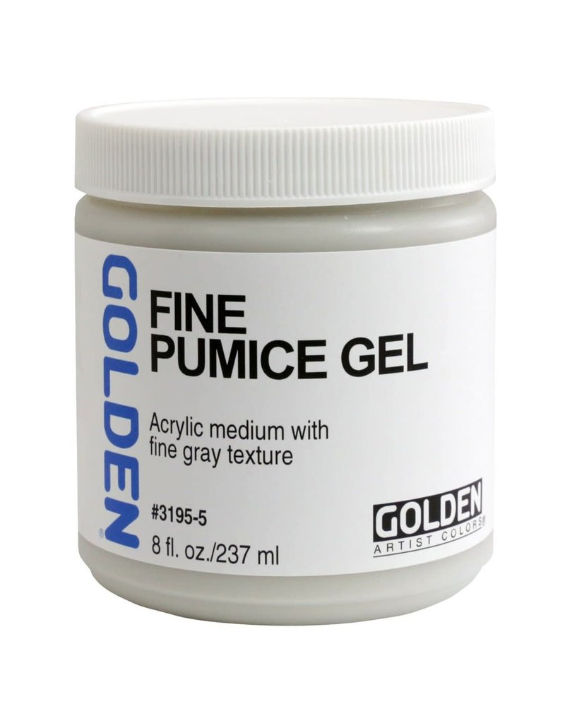 Golden Fine Pumice Gel- 8 oz