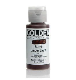 Golden Fluid Burnt Umber Lt.  1Oz