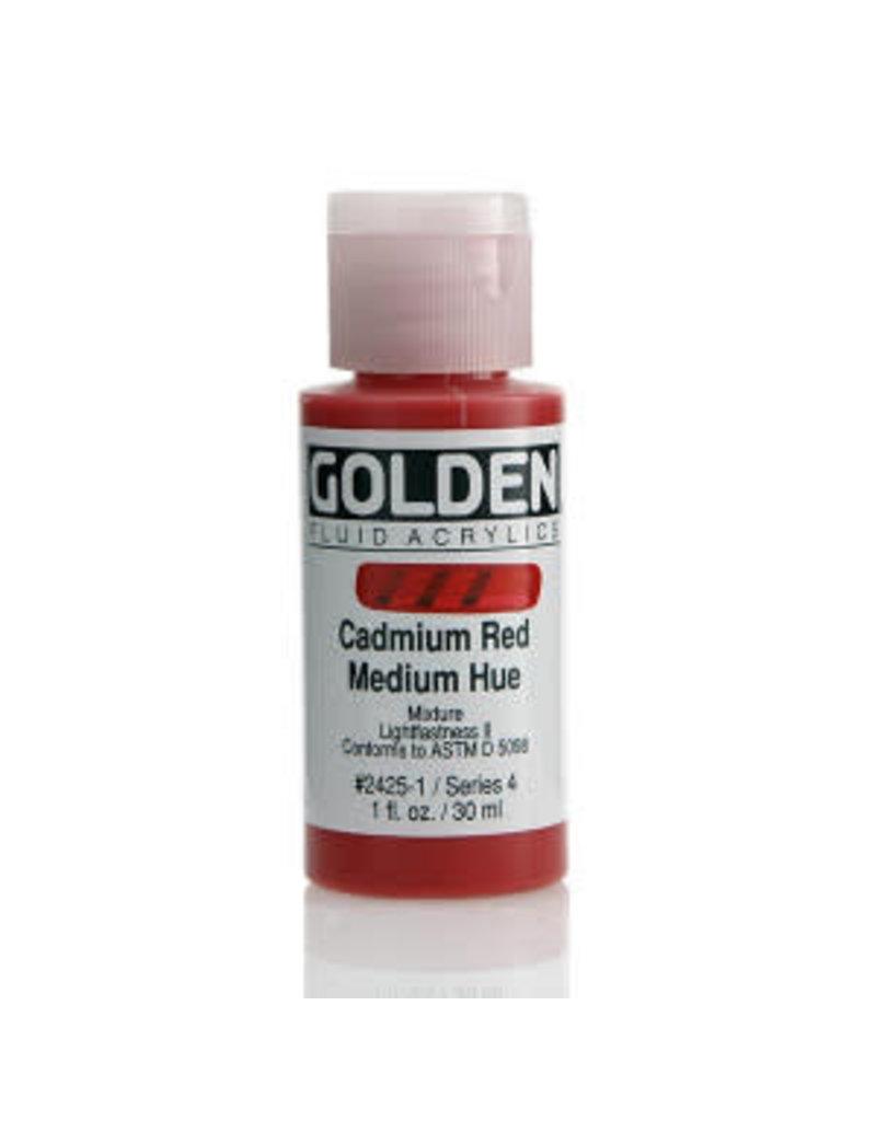 Golden Fluid Cadmium Red Medium Hue  1Oz