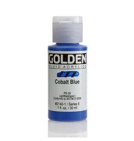 Golden Fluid Cobalt Blue  1Oz